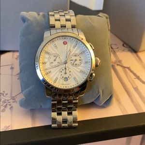 Authentic Michele Watch Stainless Steel